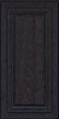 Square Raised Panel - Solid (AA7M) Maple in Slate - Wall