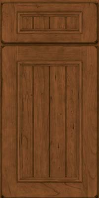 North Hampton Square (AA9C1) Cherry in Burnished Rye - Base
