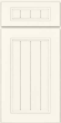 Naples Square (AA9M4) Maple in Dove White - Base