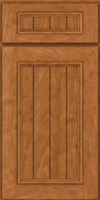 Square V - groove - Solid (AA9M) Maple in Praline - Base