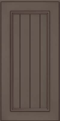 Square V - groove - Solid (AA9M) Maple in Greyloft w/ Sable Glaze - Wall
