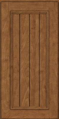 Square V - groove - Solid (AA9M) Maple in Rye - Wall