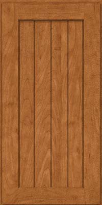 Square V - groove - Solid (AB0M) Maple in Praline - Wall