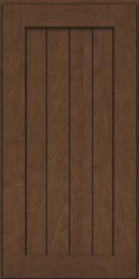 Square V - groove - Solid (AB0M) Maple in Saddle - Wall