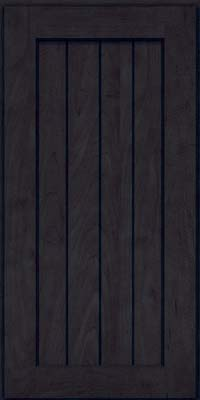 Square V - groove - Solid (AB0M) Maple in Slate - Wall