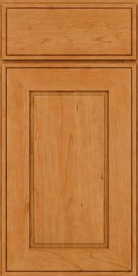 Square Raised Panel - Solid (AB1C) Cherry in Natural - Base