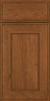 Square Raised Panel - Solid (AB1C) Cherry in Rye - Base