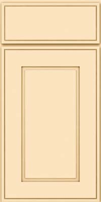 Square Raised Panel - Solid (AB1M) Maple in Biscotti - Base