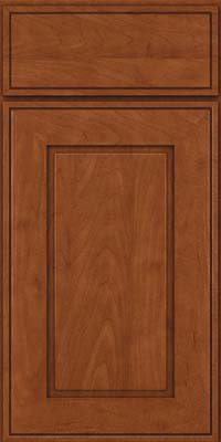 Square Raised Panel - Solid (AB1M) Maple in Chestnut - Base
