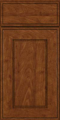 Square Raised Panel - Solid (AB1M) Maple in Cognac - Base