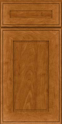 Square Raised Panel - Solid (AB1M) Maple in Golden Lager - Base