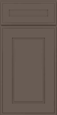 Square Raised Panel - Solid (AB1M) Maple in Greyloft - Base