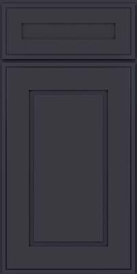 Square Raised Panel - Solid (AB1M) Maple in Midnight - Base