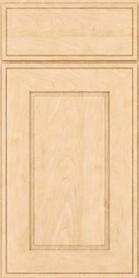 Square Raised Panel - Solid (AB1M) Maple in Natural - Base