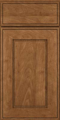 Square Raised Panel - Solid (AB1M) Maple in Rye - Base