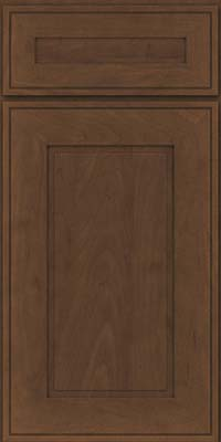 Square Raised Panel - Solid (AB1M) Maple in Saddle - Base