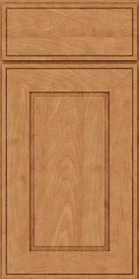 Square Raised Panel - Solid (AB1M) Maple in Toffee - Base