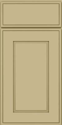 Square Raised Panel - Solid (AB1M) Maple in Willow - Base