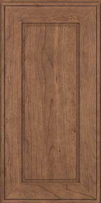 Square Raised Panel - Solid (AB1C) Cherry in Husk - Wall