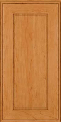 Square Raised Panel - Solid (AB1C) Cherry in Natural - Wall