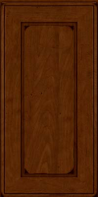 Square Raised Panel - Solid (AB1M) Maple in Burnished Chestnut - Wall