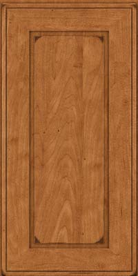 Square Raised Panel - Solid (AB1M) Maple in Burnished Praline - Wall
