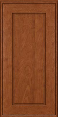 Square Raised Panel - Solid (AB1M) Maple in Chestnut - Wall
