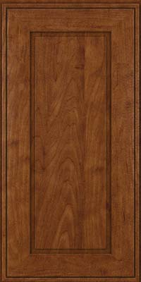 Square Raised Panel - Solid (AB1M) Maple in Cognac - Wall