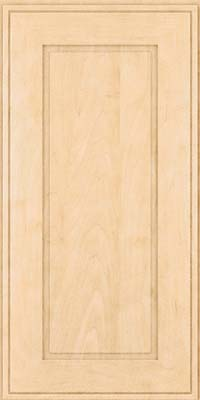 Square Raised Panel - Solid (AB1M) Maple in Natural - Wall