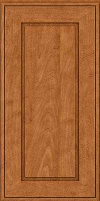 Square Raised Panel - Solid (AB1M) Maple in Praline w/Mocha Highlight - Wall