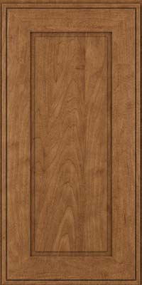 Square Raised Panel - Solid (AB1M) Maple in Rye - Wall