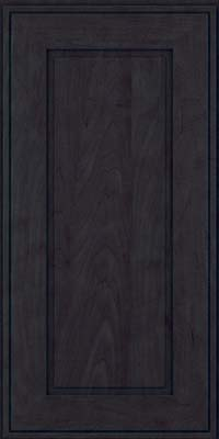 Square Raised Panel - Solid (AB1M) Maple in Slate - Wall