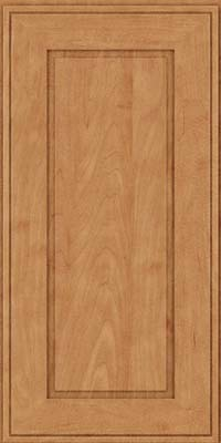 Square Raised Panel - Solid (AB1M) Maple in Toffee - Wall