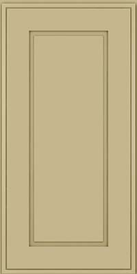 Square Raised Panel - Solid (AB1M) Maple in Willow - Wall