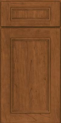 Square Recessed Panel - Solid (AB3C) Cherry in Rye - Base