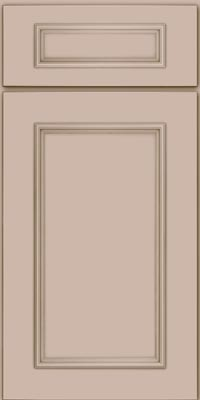 Square Recessed Panel - Solid (AB3M1) Maple in Chai - Base