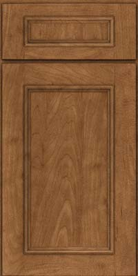 Square Recessed Panel - Solid (AB3M) Maple in Rye - Base