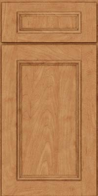 Square Recessed Panel - Solid (AB3M) Maple in Toffee - Base