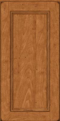 Square Recessed Panel - Solid (AB3M) Maple in Burnished Praline - Wall
