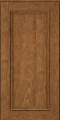 Square Recessed Panel - Solid (AB3M) Maple in Rye - Wall