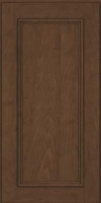 Square Recessed Panel - Solid (AB3M) Maple in Saddle Suede - Wall