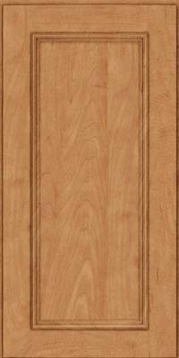 Square Recessed Panel - Solid (AB3M) Maple in Toffee - Wall