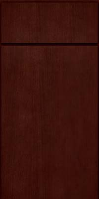Slab - Veneer (AB4C) Quartersawn Cherry in Cabernet - Base