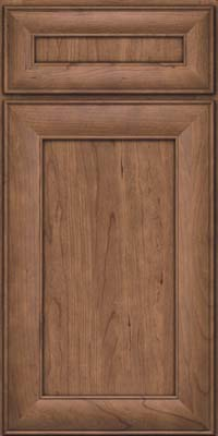 Square Recessed Panel - Veneer (AB5C) Cherry in Husk - Base
