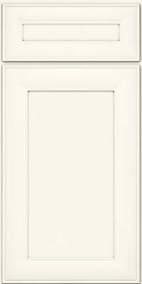 Square Recessed Panel - Veneer (AB5M) Maple in Dove White - Base