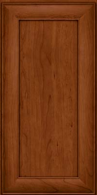 Square Recessed Panel - Veneer (AB5C) Cherry in Cinnamon - Wall
