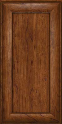 Square Recessed Panel - Veneer (AB5C) Cherry in Cognac - Wall
