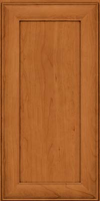Square Recessed Panel - Veneer (AB5C) Cherry in Honey Spice - Wall