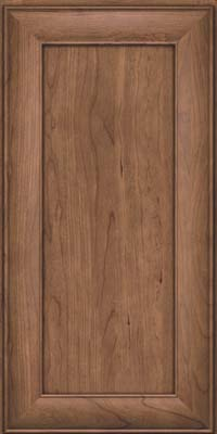 Square Recessed Panel - Veneer (AB5C) Cherry in Husk - Wall