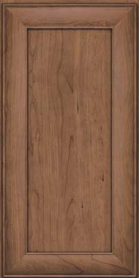 Square Recessed Panel - Veneer (AB5C) Cherry in Husk Suede - Wall